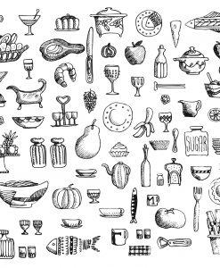 buffet_placemat_illustration